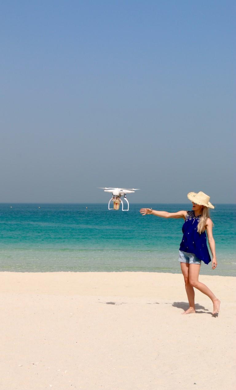Costa Coffee tests drone delivery service in Dubai