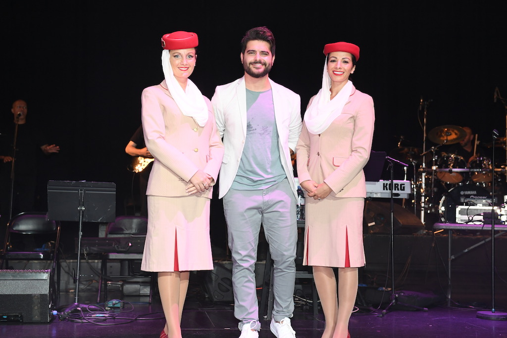 "Emirates-sponsored ""Stars on Board"" offers Arab fans a memorable voyage"