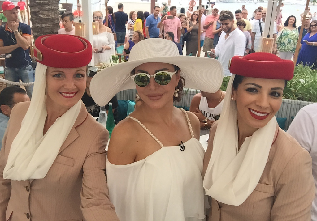 """Emirates-sponsored """"Stars on Board"""" offers Arab fans a memorable voyage"""