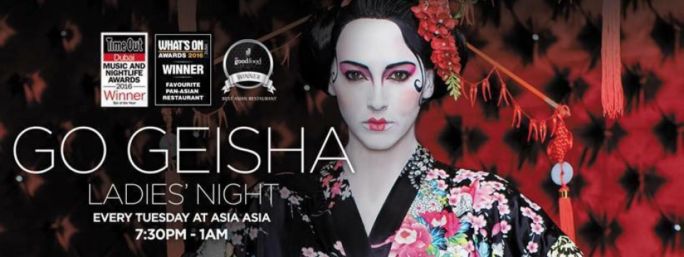 'Go Geisha!' Ladies' Night