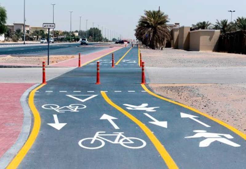 Technology Management Image: RTA Nears Completion Of Dubai Cycling Route