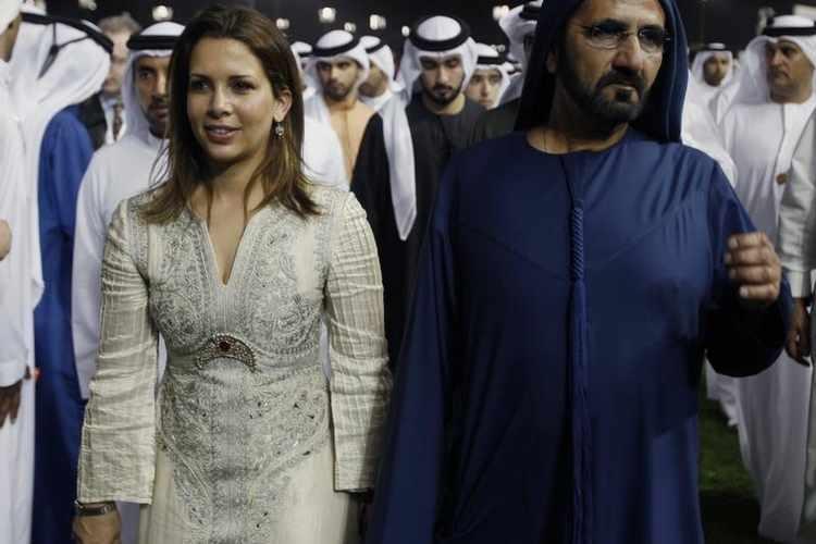 Dubai Sheikh Family Photo