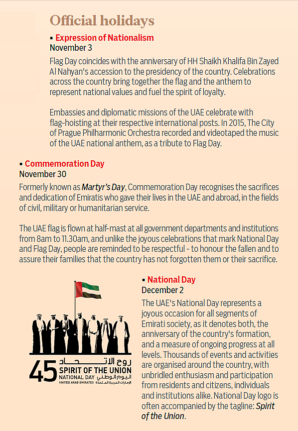 Spirit Of The Union Know The National Symbols Of The Uae And Their