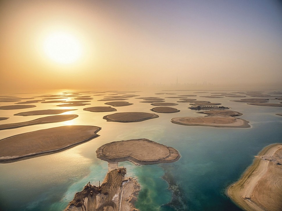 Film crew captures Heart of Europe mega-development in Dubai
