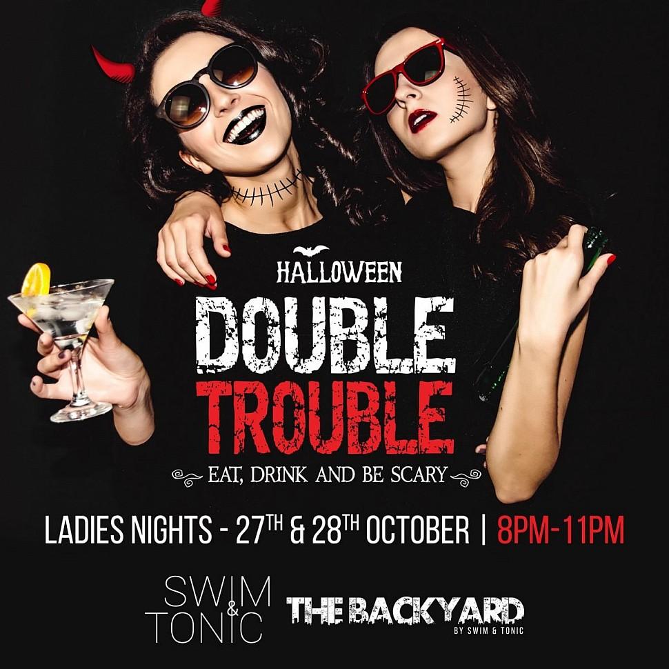 SWIM & TONIC, POOL BAR & LOUNGE LADIES NIGHT