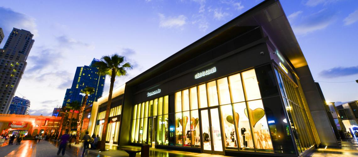 Shopping at Jumeirah Beach Residence